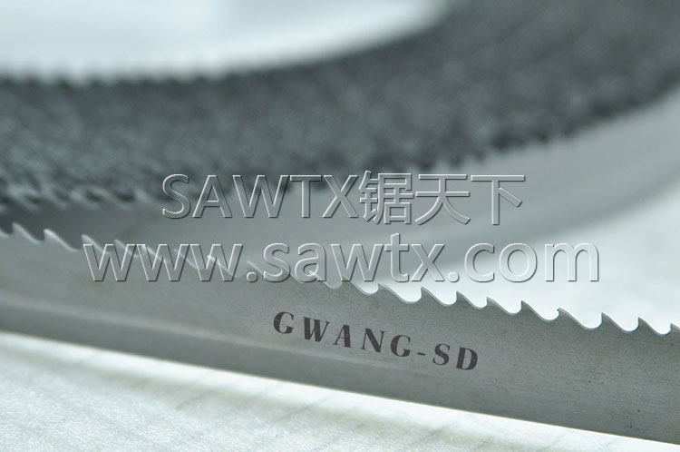 双金属带锯条GWANG-SD